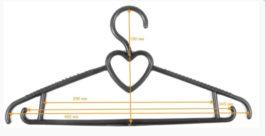 Вешалка-плечики Блузочная 1 пластиковая